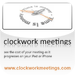 Clockwork Meetings