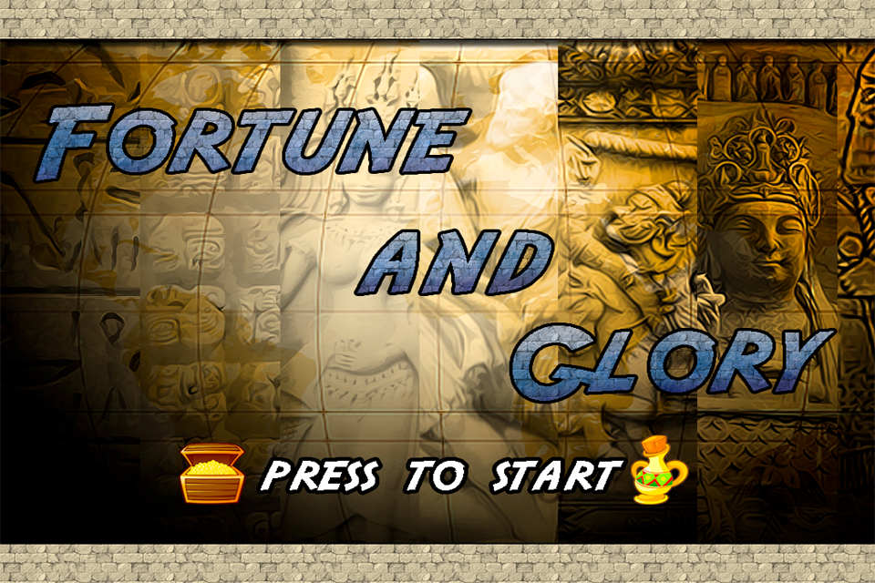 Screenshot Fortune and Glory for iPhone